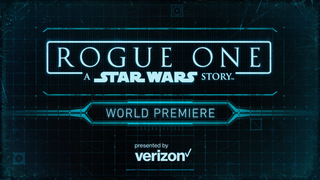 Rogue One World Premiere Red Carpet Event