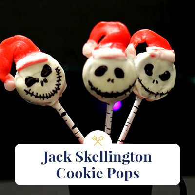 Jack Skellington Cookie Pops