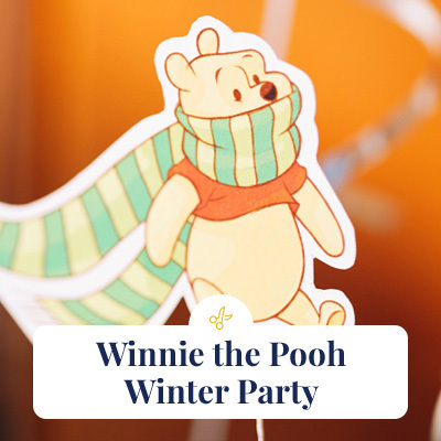 Winnie the Pooh Winter Party
