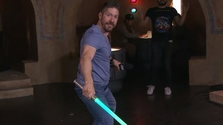 Ray Park Lightsaber Lesson - Star Wars Celebration Anaheim