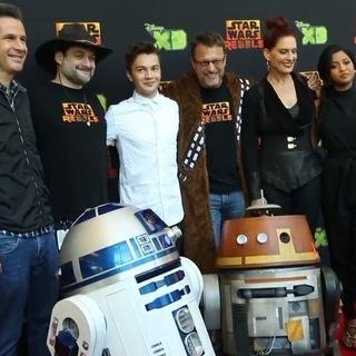 Star Wars Rebels Season 2 Premiere: Cast Interview - Star Wars Celebration Anaheim