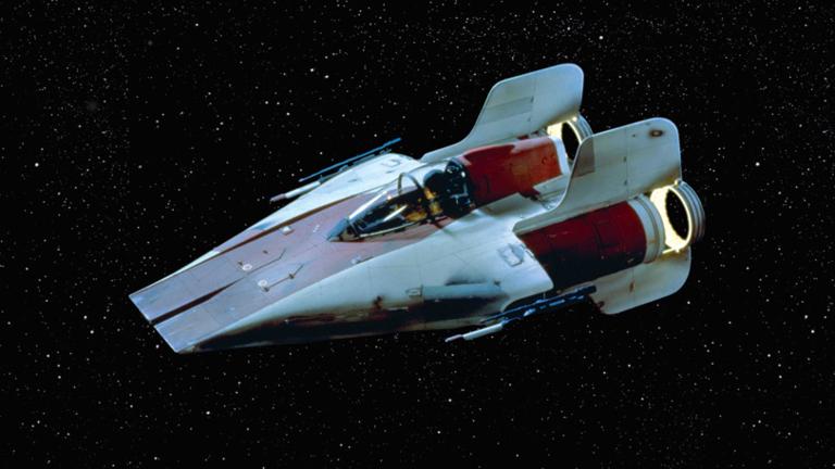 star wars reviews 1 a wing fighter minecraft blog. Black Bedroom Furniture Sets. Home Design Ideas