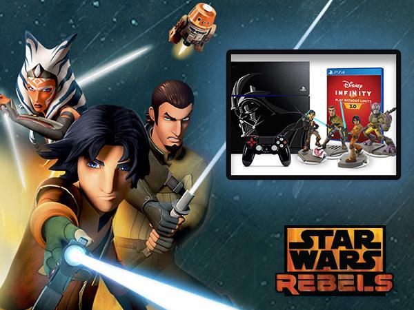 Vind med Star Wars Rebels