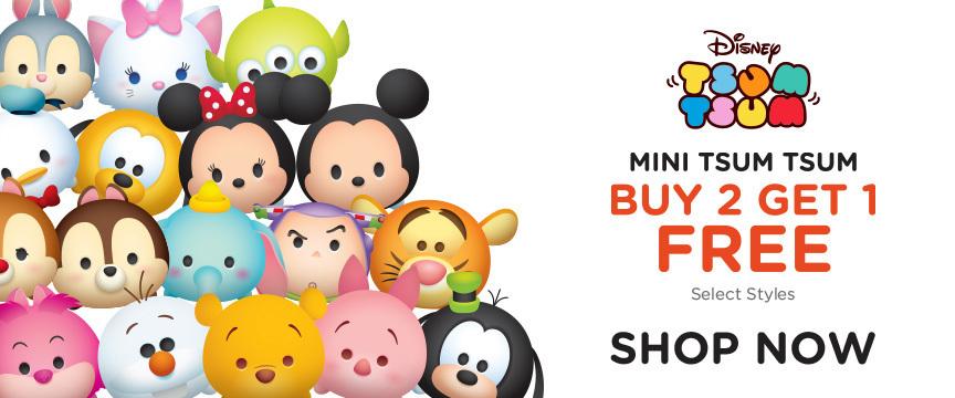 Disney Store Promo - Disney Tsum Tsum B2G1 Free Event