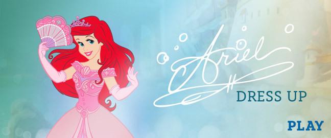 Ariel Dress-Up