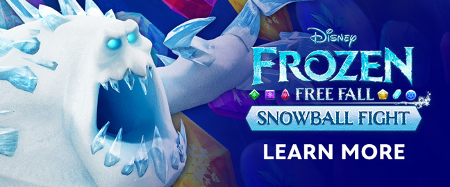 Frozen Free Fall Snowball