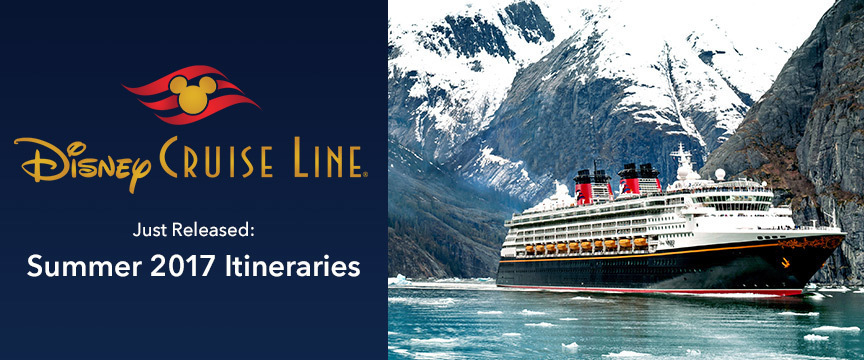 New From Disney Cruise Line