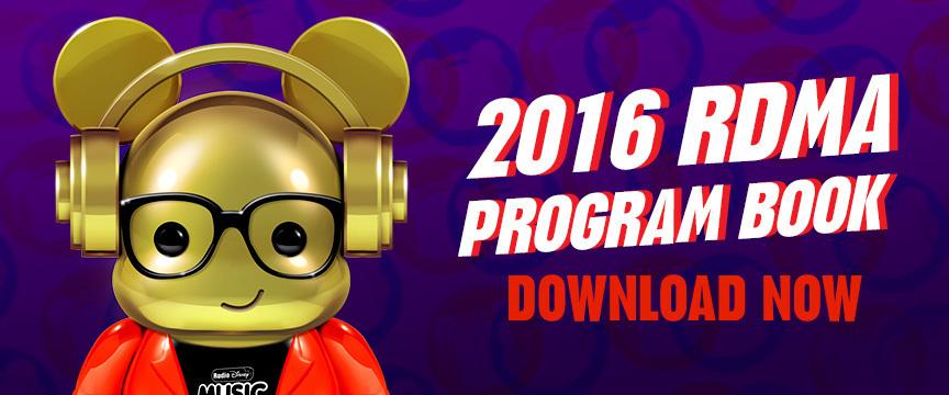 2016 RDMA - Program book