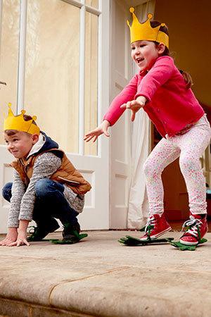 Skacz jak książę Naveen z Księżniczki i żaby