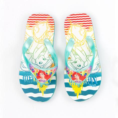 Ariel triangle strap flip-flop