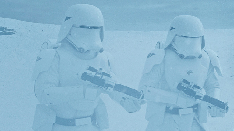 First Order Snowtroopers