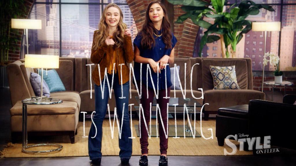 Twinning is Winning by Sabrina Carpenter & Rowan Blanchard | Style on Fleek
