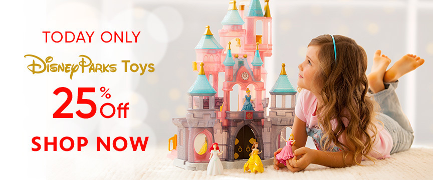 One Day Only! Parks Toys 25% Off