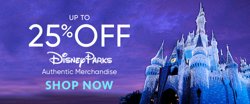 25% Off Disney Parks Merchandise
