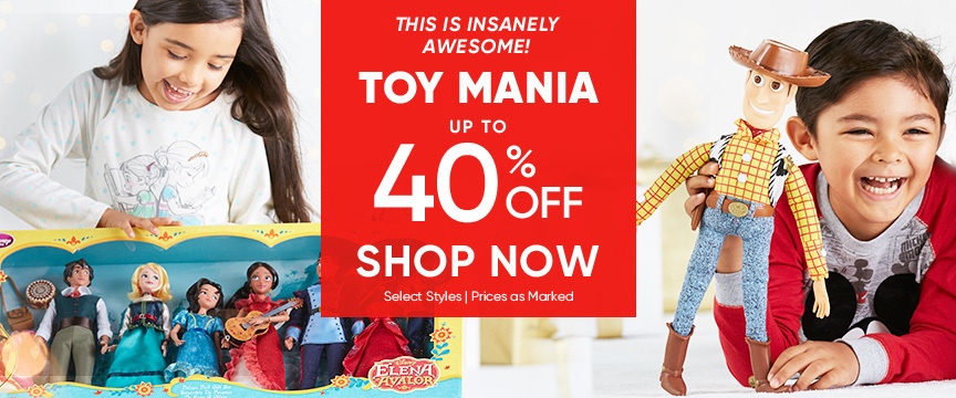 Toy Mania Sale