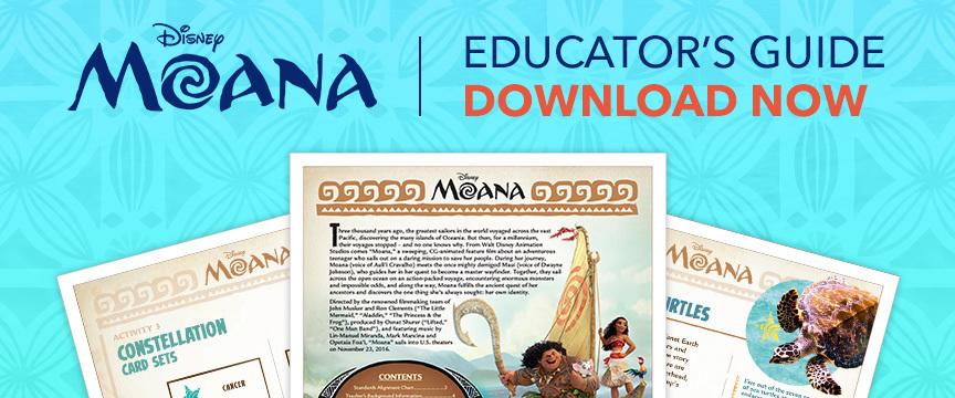 Moana Educator's Guide