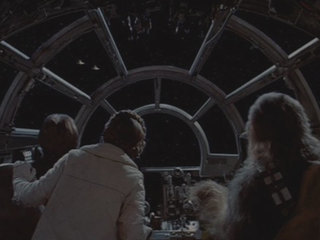 """""""Star Destroyers! Two of them – comin' right at us!"""""""