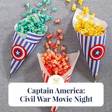 Captain America Civil War Movie Night