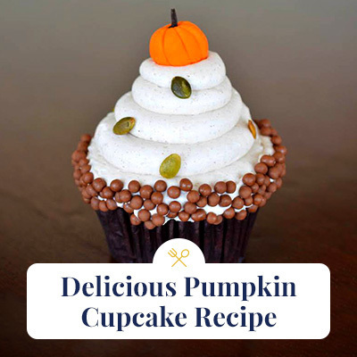 Delicious Pumpkin Cupcake Recipe