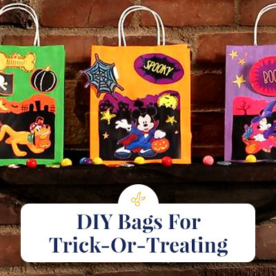 DIY Bags For Trick-Or-Treating