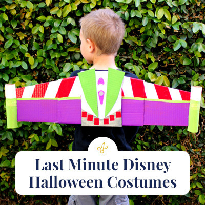 Last-Minute Disney Halloween Costumes