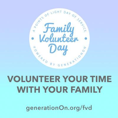Family Volunteer Day