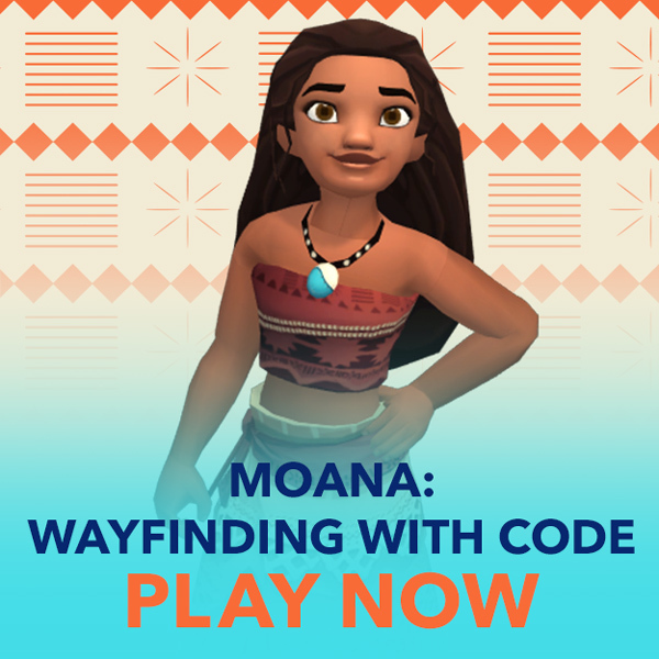 Moana Wayfinding with Code game