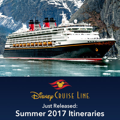 Summer 2017 Itineraries