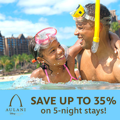 Save up to 35% on 5-night stays!