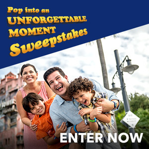 Pop Into An Unforgettable Moment Sweepstakes