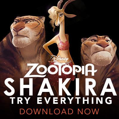 Zootopia - Shakira single