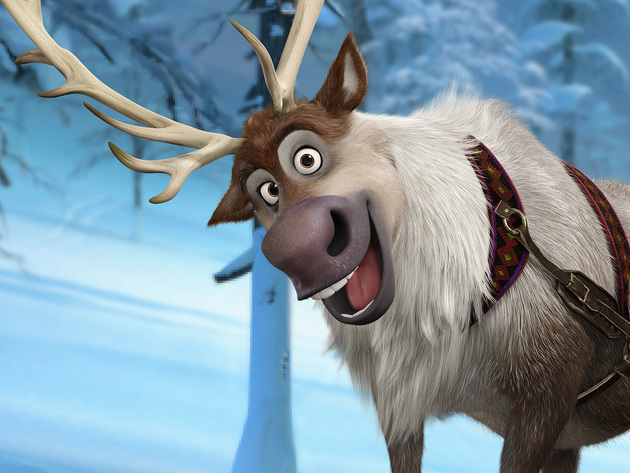 A reindeer with the heart of a Labrador, Sven is Kristoff's loyal friend, sleigh-puller and consc...