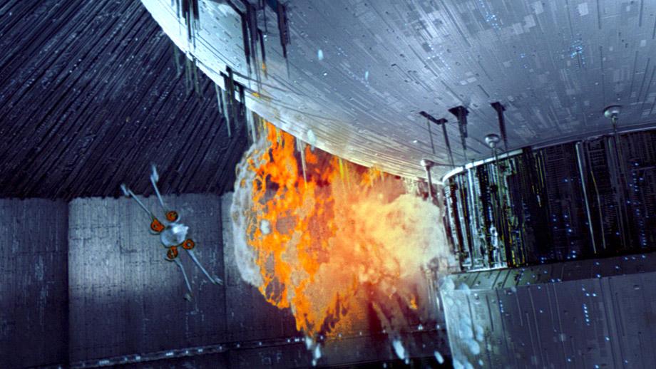 Взривяване на Звездата на смъртта 2