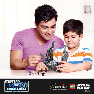 Master Your Force together this May at Legoland Malaysia
