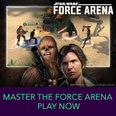 Hero Stream - Star Wars Force Arena
