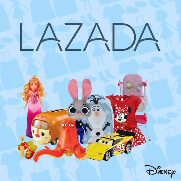 "Lazada Shop In Shop Thailand ""More Disney"" Square - TH"