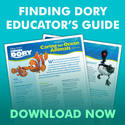 Finding Dory - Educator's Guide