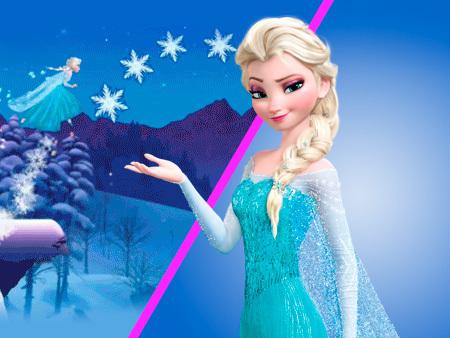 Frozen: corrida dos cristais