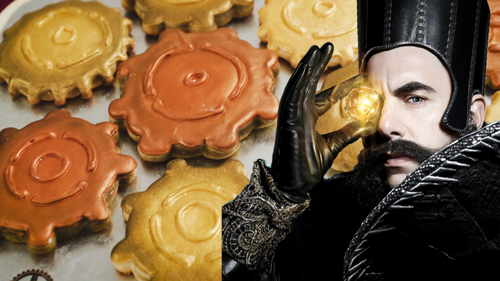 Time's Gear Cookies | Dishes by Disney