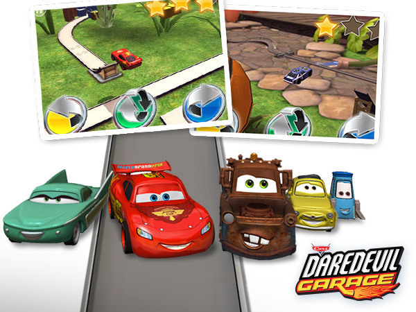 Cars Daredevil Garage