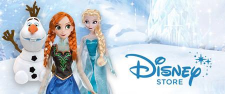 Frozen en Disney Store