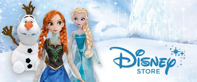 Frozen na Disney Store