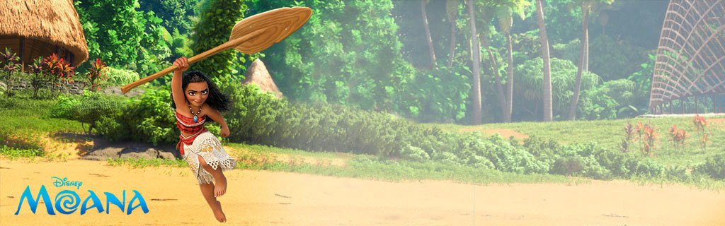 Moana Animated Homepage Hero