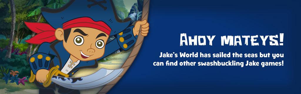Jake's World landing page
