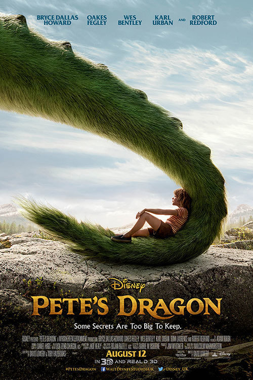Pete's Dragon - Movie Poster
