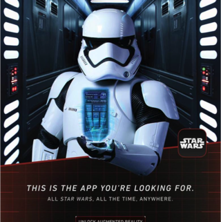 Star Wars app on the App Store