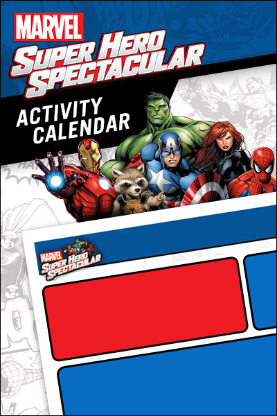 Marvel Super Hero Spectacular Activity Calendar
