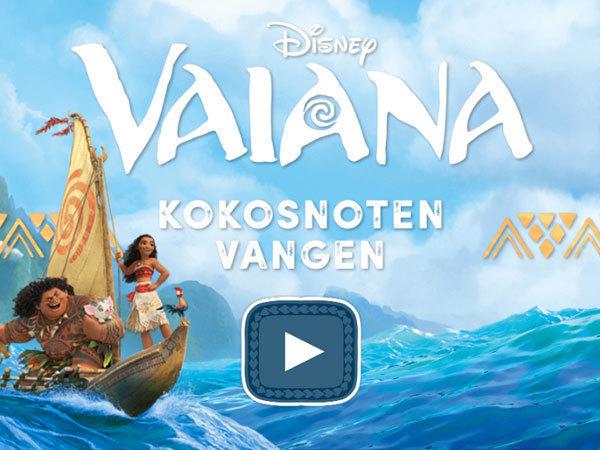 Vaiana Kokosnoten Vangen