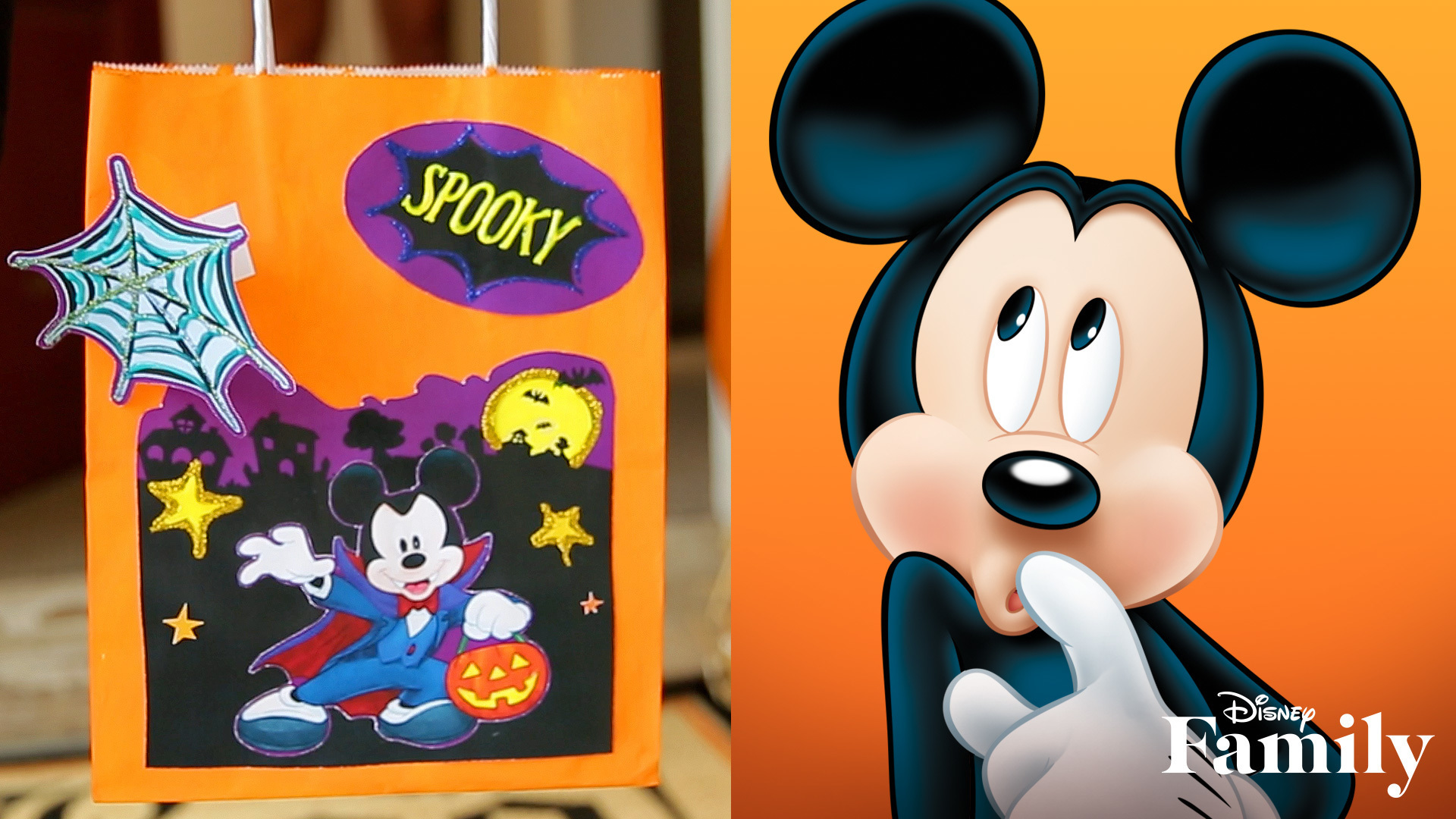 Mickey and Friends Halloween Treat Bags | Disney DIY