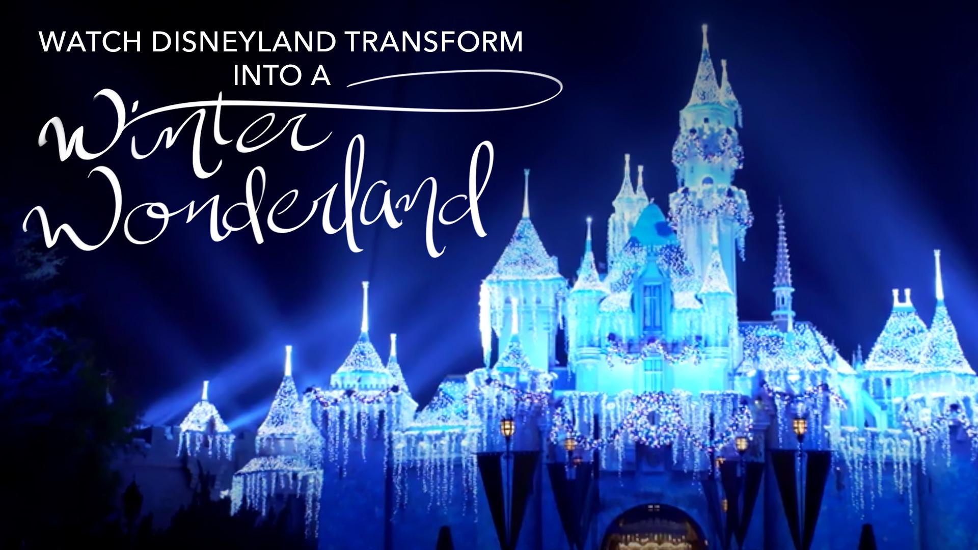 Disneyland Holiday Timelapse